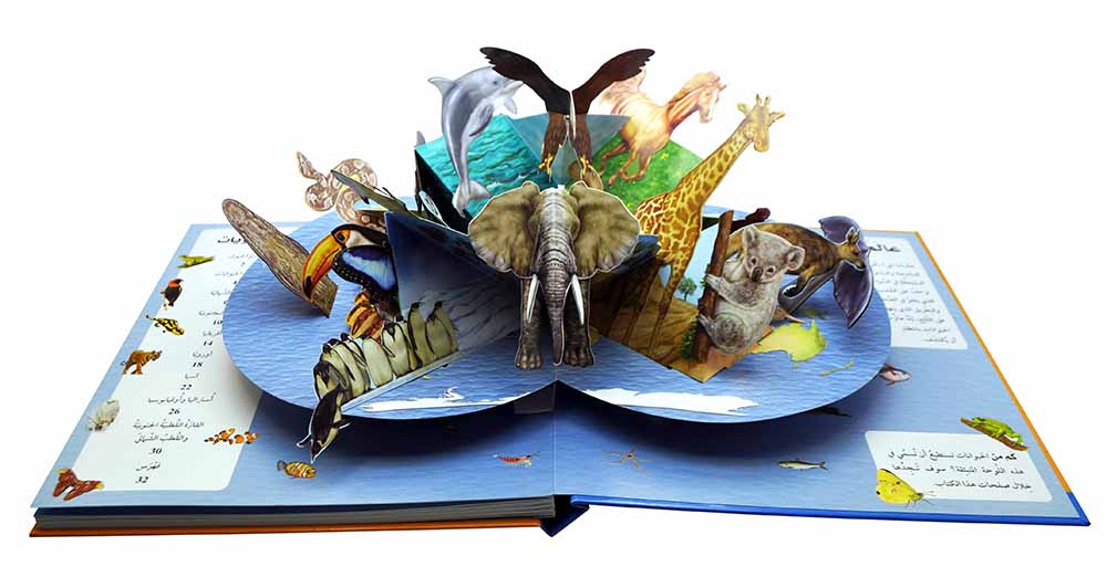 Pop-up Paper Engineer Animal Book